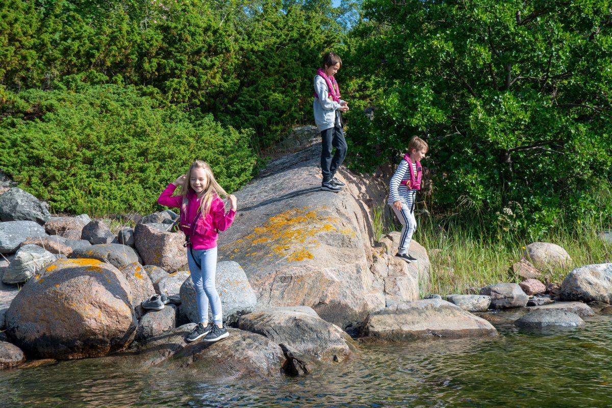 Children on Husö