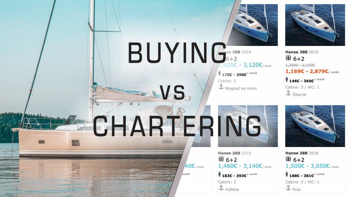 Buying vs Chartering a Hanse 388